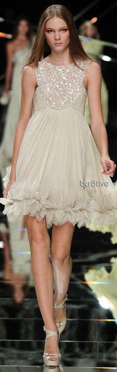 Elie Saab - I like the hemline on this Elie Saab dress.