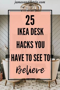 home_decor - 25 Ikea Desk Hacks That Will Inspire You All Day Long Ikea Hacks, Desk Hacks, Ikea Furniture Hacks, Retro Furniture, Office Furniture, Luxury Furniture, Furniture Decor, Ikea Nordli, Ikea Home Office