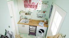 Lavanderías ordenadas