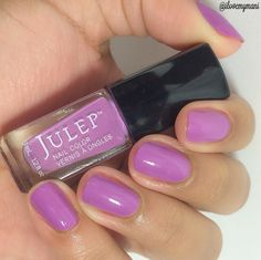 On my nails is two coats of this Julep nail polish called Rae, one of Julep's more popular polishes from 2014.
