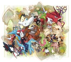 Tags: Fanart, Pokémon, Nintendo, Pokémon SPECIAL, Pixiv, Hibiki (Pokémon), Silver (Pokémon), Gyarados, Kingdra, Kris (Pokémon), Cubone, Feraligatr, Meganium, Typhlosion, Politoed, Arcanine, Ambipom, GAME FREAK, Xatu, Sudowoodo, Togekiss, Sunflora, Hitmonchan, Parasect, Weavile, Honchkrow, PNG Conversion, Fanart From Pixiv, Shiny Pokémon, Kuromame / 黒豆