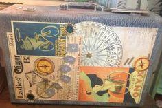 Altered Art Suitcase ($30)