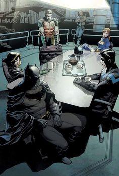 I frickin' love DC Comics. Jason Todd is my favorite character. I mostly stick to the Bat Family. Poster Marvel, Poster Superman, Posters Batman, Dc Comics Poster, Batman Artwork, Batman Vs, Batman The Dark Knight, Batman Robin, Spiderman