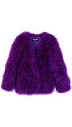 Balenciaga Purple Coat ~ I so want♥♥