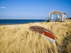 Cotchpinicut Boathouse by Christopher Seufert http://www.CapeCodPhoto.net