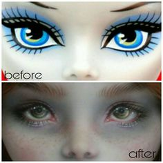 #faceup#faceupartist#customdolls#custom#monsterhighooak#ooakmh#dollphotography#монстрхай#мейкап#кукла#глазастик#рисую