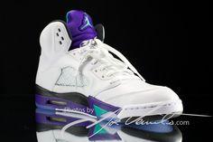 Air Jordan V Grape