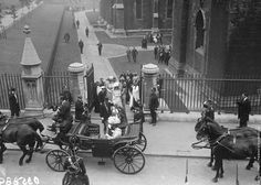 King George V and Queen Mary leave St Patrick's Cathedral in Dublin, during a visit to Ireland, July They are accompanied by the Prince of Wales and Mary, the Princess Royal. Get premium, high resolution news photos at Getty Images Old Pictures, Old Photos, Irish Independence, Dublin City, New Inventions, Queen Mary, King George, Change The World, St Patrick