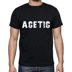 #tshirt #acetic #men #black #word T-shirt time! Pick your favorites -->