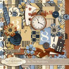By The Numbers :: Full & Mini Kits :: Memory Scraps
