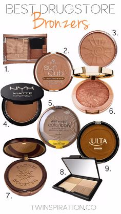 Best Drugstore Makeup Dupes- BEST DRUGSTORE BRONZERS - Simple DIY Tutorials That Cover The Best Drugstore Dupes And Products For Foundation, Contouring, Lipsticks, Eye Concealer, Products For Oily Skin, Dupe Brushes, and Primers From 2016 And Places Like Target. These Are Cheap And Affordable - https://thegoddess.com/best-drugstore-makeup-dupes #MyBeautyProductsTip