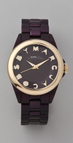 What time is it?? Marc Jacobs time.