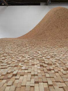 """Maya Lin """"2x4 Landscape"""" 2006"""