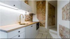 modern rusztikus konyha - Luxuslakások, házak 6