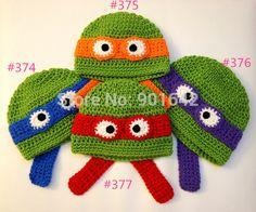 gorro tejido tortuga ninja - Buscar con Google