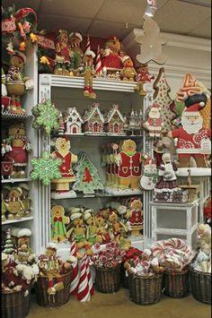 Gingerbread Store Display