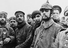 Le foto inedite della prima guerra mondiale.austriaci e tedeschi prigionieri sul fronte italiano