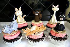 Pussycat Cupcakes