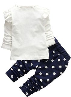 Baby Girls Toddler Kids Clothes Shirt Top Leggings Pants Outfits80Blue >>> You can find out more details at the link of the image. (This is an affiliate link) #BabyGirlClothesCollection