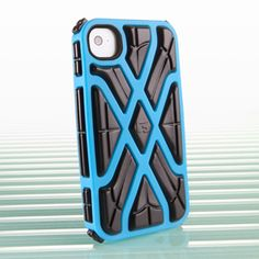 The G-Form Blue X-Protect iPhone 4 Case for Apple iPhone 4 & 4s is peace of mind for your portable device. Just $29.99!