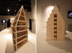feltrinelli + herzog & de meuron: an urban project for milan, architectural model, maqueta, modulo