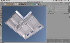 Modeling an Appartment from top to bottom with Cinema 4D - Tutorial on Vimeo