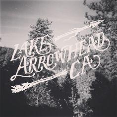 Lake Arrowhead CA.  Cottage Grove Rd.