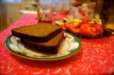 Russian Dark Rye Sourdough Bread