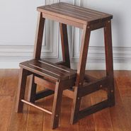 Winsome Wooden Folding Step Stool - looks nicer than the ugly metal ones