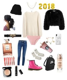 """""""Untitled #8"""" by mashaluba on Polyvore featuring beauty, Erdem, Uniqlo, Luv Aj, Acne Studios, Gucci, Recover and Chanel"""