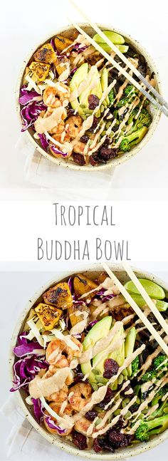 Tropical Buddha Bowl #skinny