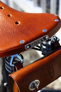 bike...my favorite modern saddle - after my vintage Ideale Saddle.