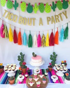 16 Pack) Fiesta Bachelorette Graduation Party Cactus Banner Garland Backgound String Cactus Glitter Green for Kids Birthday Summer Tropical Wedding Taco Cinco De Mayo Party Decor Favor Mexican Birthday Parties, Mexican Fiesta Party, Fiesta Theme Party, Birthday Party Themes, Taco Party, Fiesta Party Decorations, Birthday Ideas, Fiesta Gender Reveal Party, 2 Year Old Birthday Party Girl