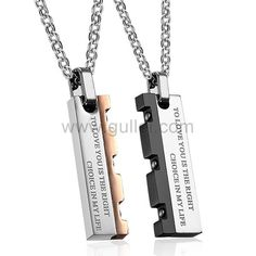57e84c2a87 26 Best His and Hers Necklaces images in 2019 | His, hers necklaces ...
