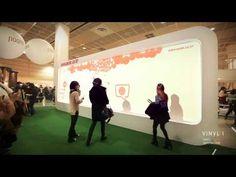 Interactive Media Wall (Edited Version) - YouTube