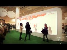 Interactive Media Wall (Edited Version) - YouTube