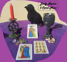3 card mini tarot reading.. with a free by WitchCraftCrafts, €4.25