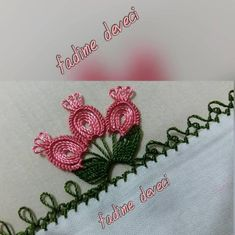 No automatic alternative text. Embroidery Flowers Pattern, Embroidery Stitches, Embroidery Designs, Crochet Unique, Beige Shoulder Bags, Towel Crafts, Crochet Gifts, Pattern Books, Hand Towels