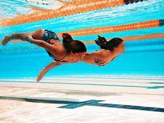 underwater pics during practice...?