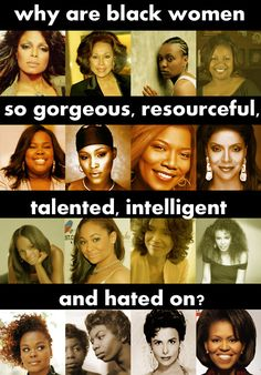 beautiful talented black women