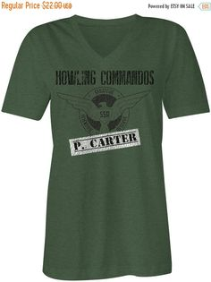 SALE TODAY Agent Carter Inspired Howling by DeepDiveThreads