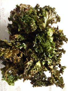 Home made kale chips