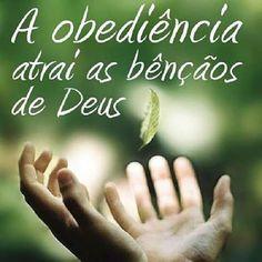 Obediência à vontade de Deus Obediência às Suas leis