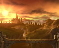 Hyrule. Yes. It is a place. Try telling me otherwise. :)