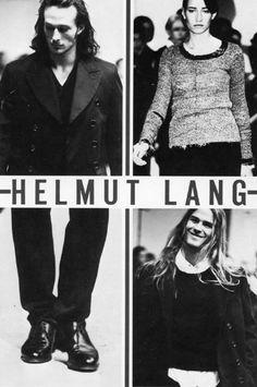 helmut lang campaign The work of Helmut Lang - Pag - campaign Fashion Words, All Fashion, Fashion Art, Editorial Fashion, Fashion Brands, Fashion Design, Helmut Lang, Logos Retro, Vintage Logos
