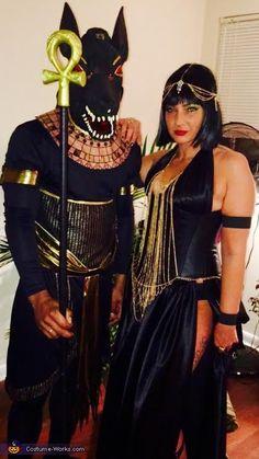 Anubis & Isis Costume via costume-works.com
