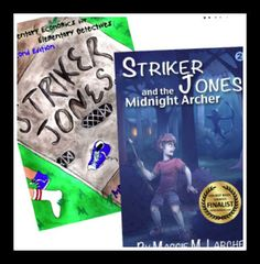Striker Jones is a unique classic kids detective series that teaches children ages 8-12 basic economic concepts. Use it to introduce economic concepts like wants vs. needs or incentives, and enrich your social studies curriculum with fun stories your kids will love.