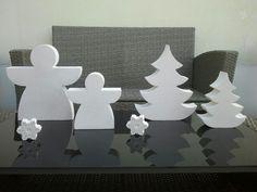 Beton weihnachten in weiss diy