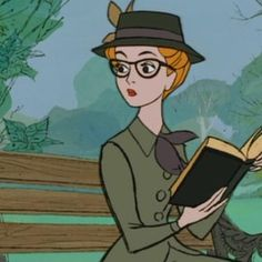 Anita from 101 Dalmatians. Look at that outfit!