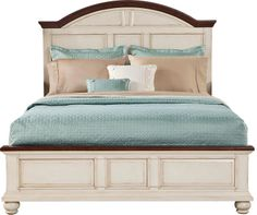 Rooms To Go Berkshire Lake White 3 Pc King Bed on shopstyle.com